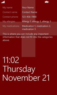 Emergency Lock Screenshot 1